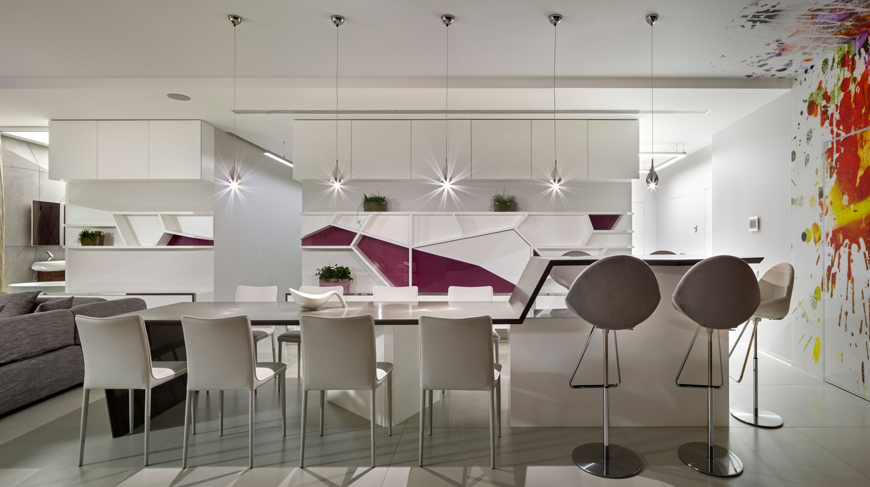 дизайн інтер'єру квартири в ЖК Будинок на набережній